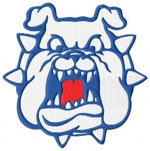 Fresno State Bulldogs Embroidery Design