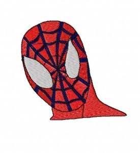 Spiderman Embroidery Designs Set