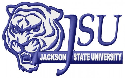 jackson state university embroidery design