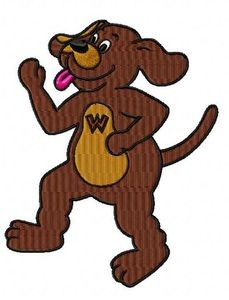 wiggles wags embroidery design