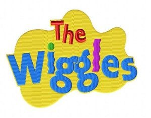 wiggles logo embroidery design