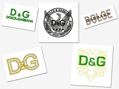 Dolce And Gabanna Embroidey Designs