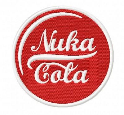 Nuka Cola Fallout Embroidery Design
